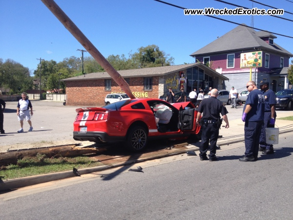 2012 Ford Shelby Gt500 Wrecked Nashville Tn
