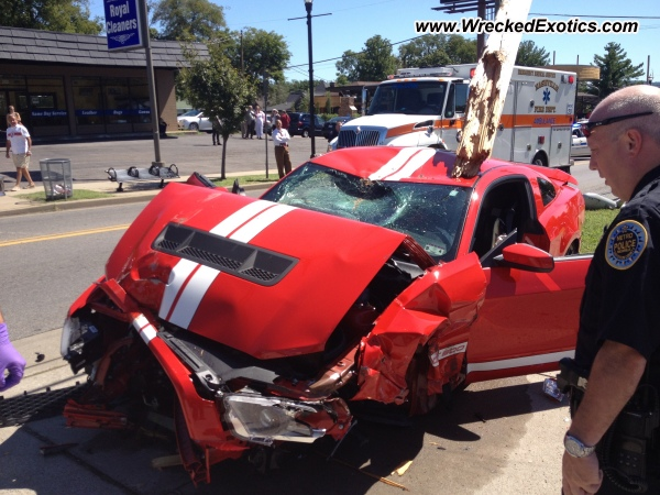 2012 Ford Shelby Gt500 Wrecked Nashville Tn Photo 2