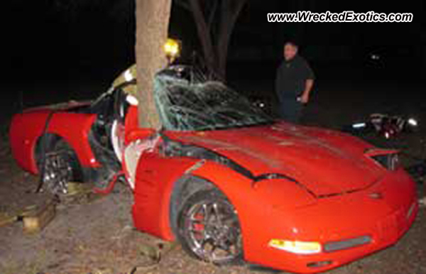 1997 Chevrolet Corvette Wrecked Pinellas Park Fl