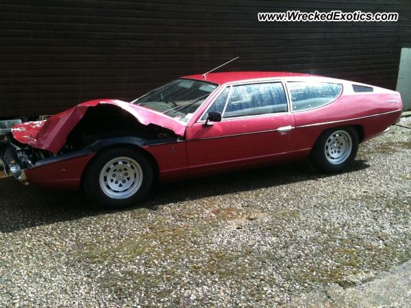 Lamborghini Espada Wrecked United Kingdom