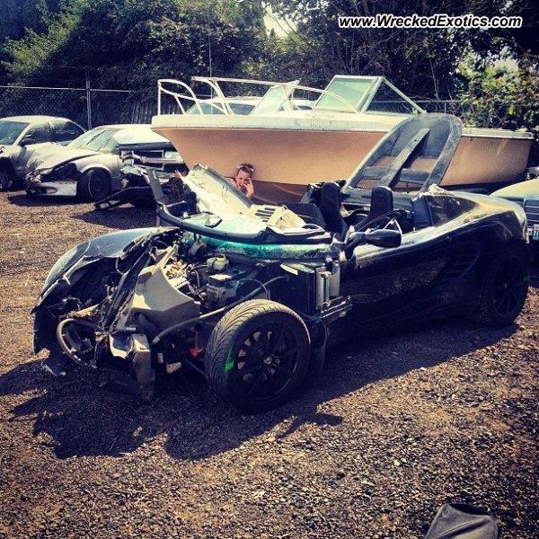 Bmw Z8 Salvage: 2005 Lotus Elise Wrecked, Vancouver, WA