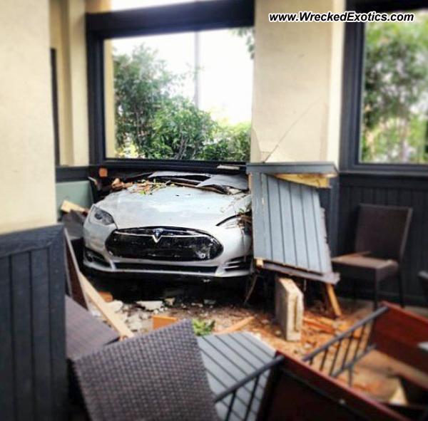 Bmw Z8 Salvage: Tesla Model S Wrecked, Camarillo, CA