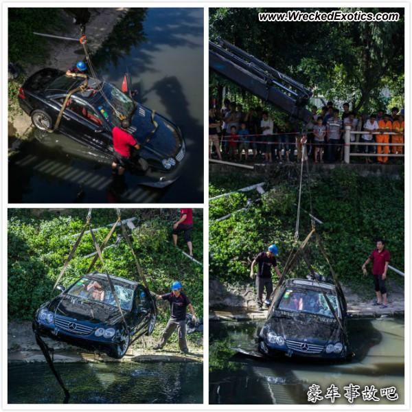 Bmw Z8 Salvage: Mercedes-Benz SL55 AMG Wrecked, ShenZhen, China