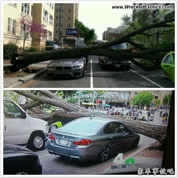 Bmw Z8 Salvage: BMW M5 F10 Wrecked, Washington, DC