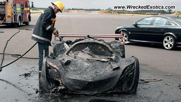 Mazda Furai wrecked, Surrey, United Kingdom, photo #2