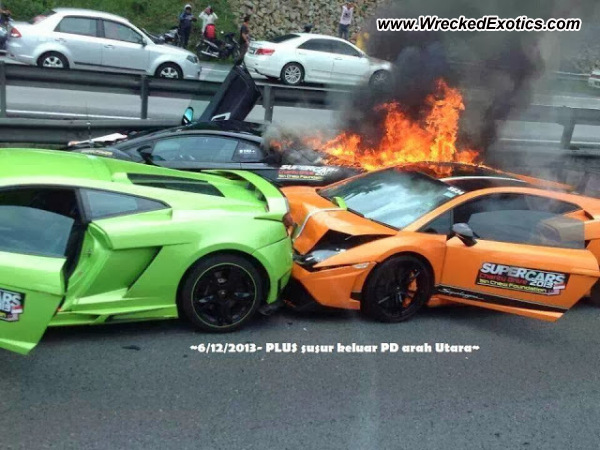 Lamborghini Aventador, Gallardo need extensive collision repair