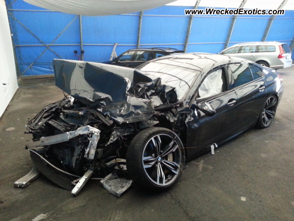 2013 Bmw M6 Gran Coupe Wrecked Oslo Norway