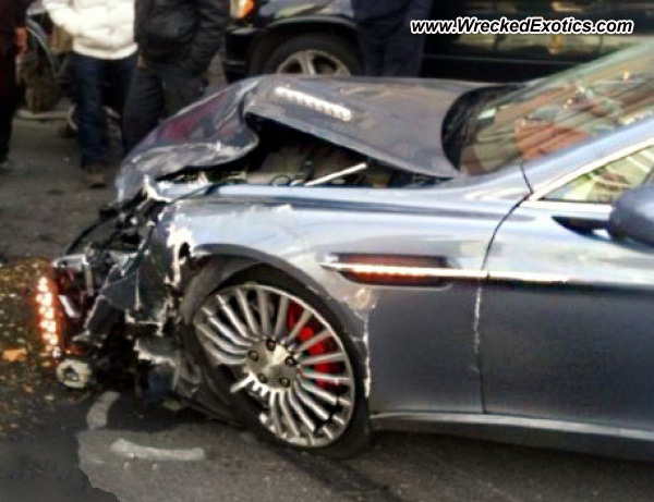 Aston Martin Rapide Wreck in Beijing-Almost Everything Autobody