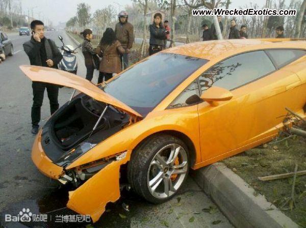 Lamborghini Gallardo LP 500 Wreck-Almost Everything Autobody