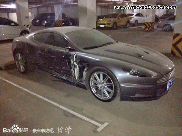 Aston Martin DBS Sideswiped