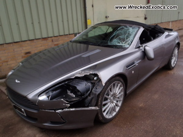 2007 Aston Martin Db9 Volante Wrecked United Kingdom