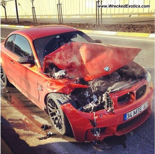 Bmw M1 Coupe Wrecked Ankara Turkey