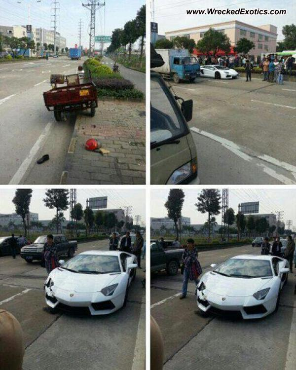 Bmw Z8 Salvage: Lamborghini Aventador Wrecked, Malaysia