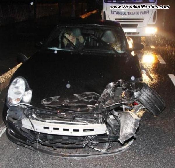 Bmw Z8 Salvage: 2008 Porsche 911 Wrecked, Istanbul, Turkey