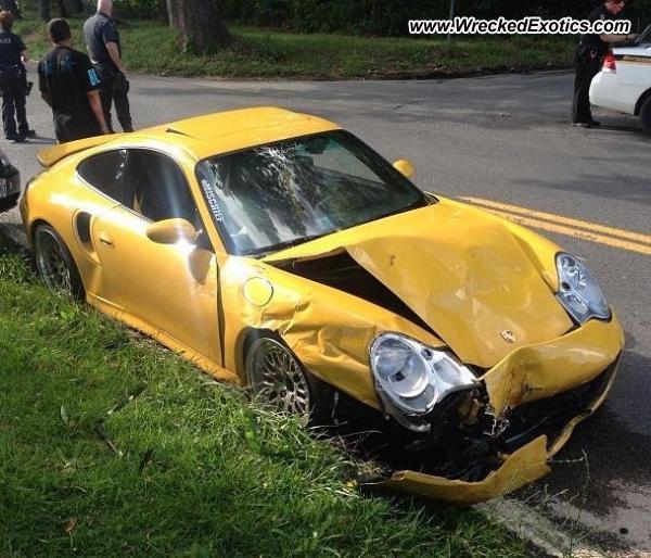 Bmw Z8 Salvage: 2004 Porsche 996 Turbo Wrecked, Silver Spring, MD