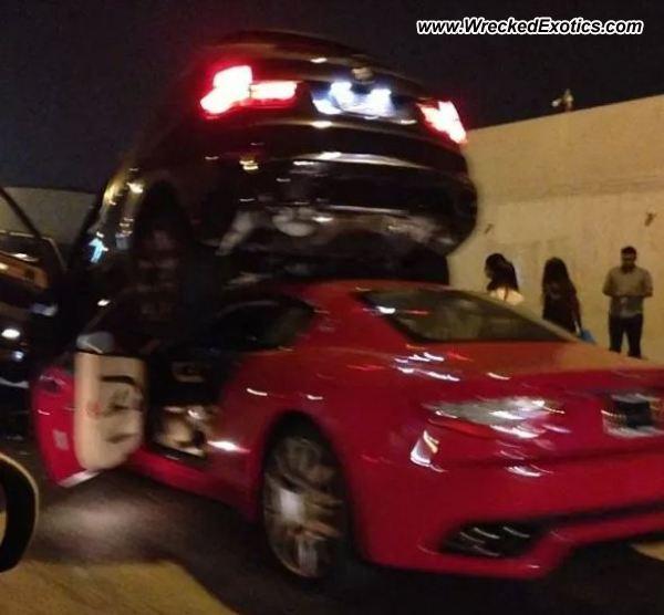 Bmw Z8 Salvage: Maserati GranTurismo Wrecked, San Gabriel, CA