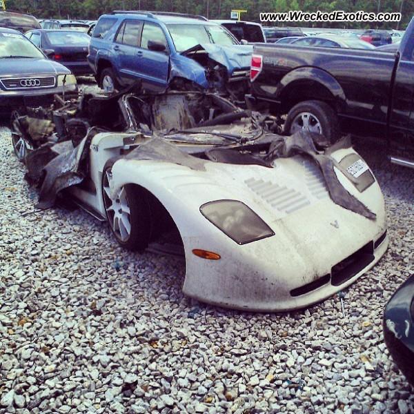 Mosler MT900 Wrecked, Atlanta, GA