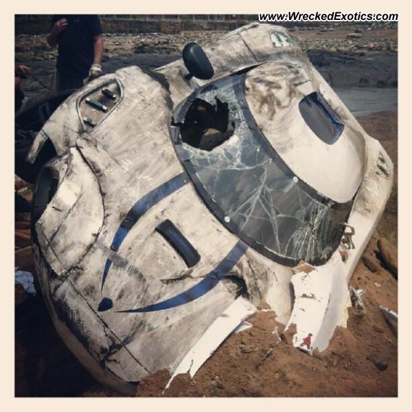 2013 Koenigsegg Agera R Wrecked, California
