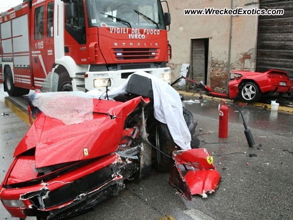 2011 Audi S5 For Sale Ferrari 355 GTS wrecked, Vicenza, Italy