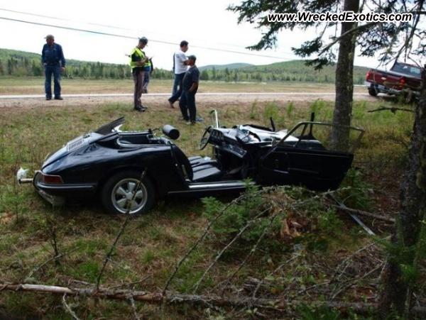 1967 Porsche 911 Wrecked Dummer Nh