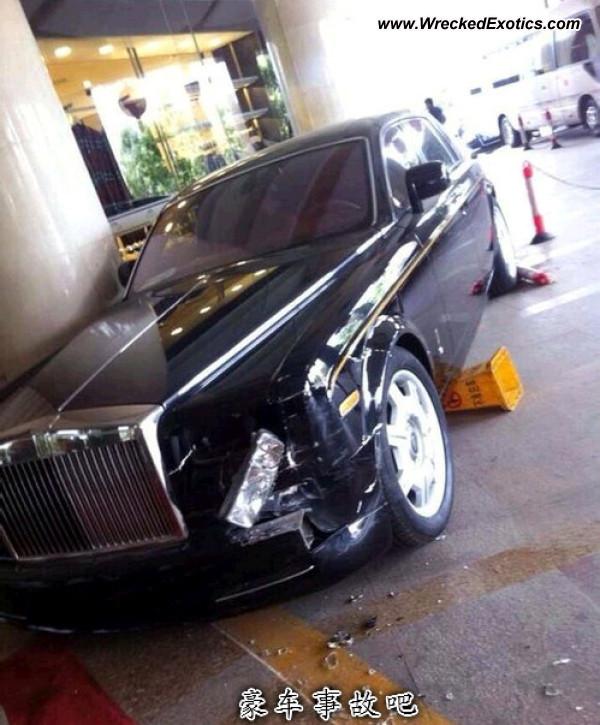 Bmw Z8 Salvage: Rolls-Royce Phantom Wrecked, HeBei, China