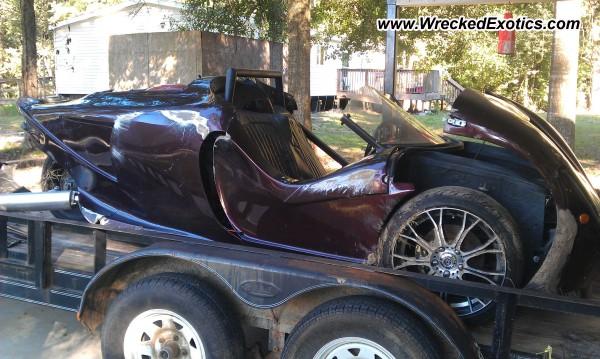 2013 G3 Reverse Trike Wrecked Baton Rouge La