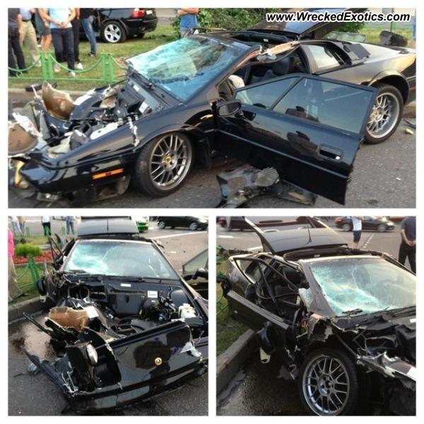 Bmw Z8 Salvage: Lotus Esprit Wrecked, Los Angeles, CA