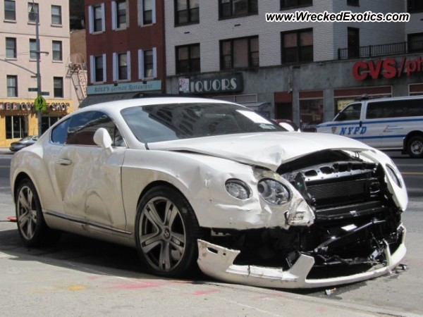 Bently continenental gt wrecked new york ny bently continenental gt voltagebd Image collections
