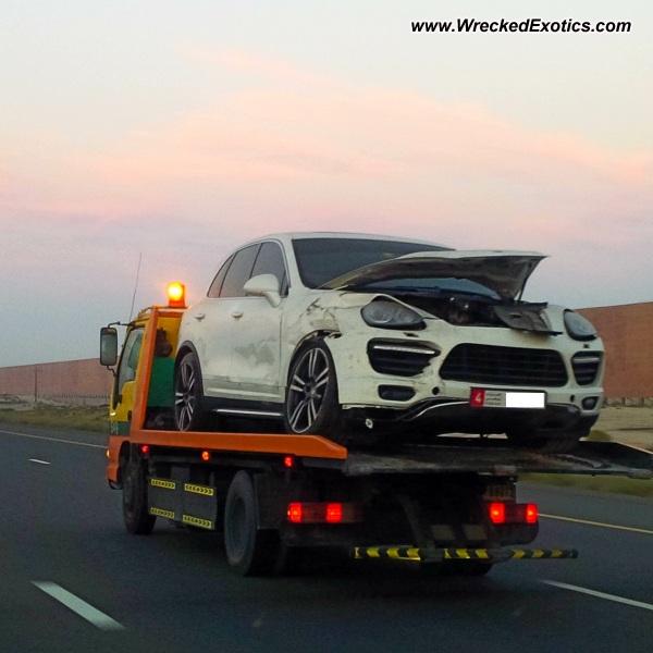 Bmw Z8 Salvage: 2013 Porsche Cayenne GTS Wrecked, Abu Dhabi, UAE