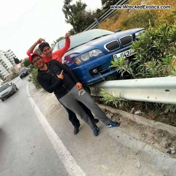 BMW M3 E46 Wrecked, Aryanah, Tunisia