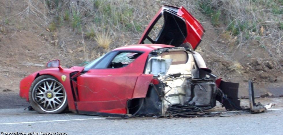 Ferrari Accident in Malibu