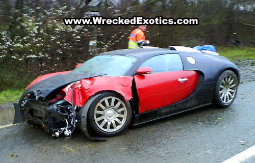 The Unnamed Driver Is Said To Have Lost Control Of The 1,000 Hp, 253mph  Supercar When It Hit A Patch Of Standing Water On The B375 Near Shepperton,  ...
